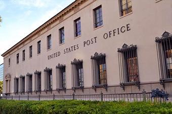 Post Office, Downtown campus