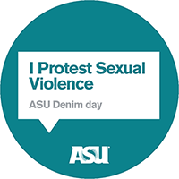 I protest sexual violence
