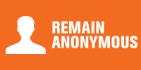 remain anonymous